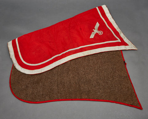 Extremely Rare German WWII Army Saddle Blanket