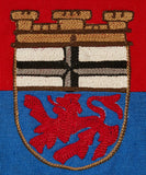 German Coat of Arms Pennant for City of Bonn