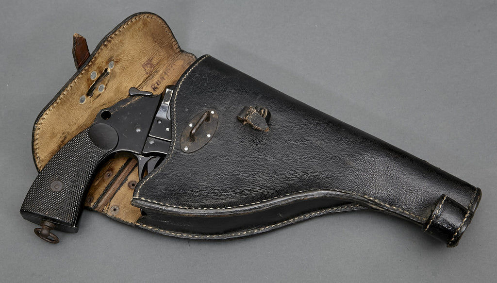 WWII German Wehrmacht (possibly Navy?) Flare Pistol w/Holster