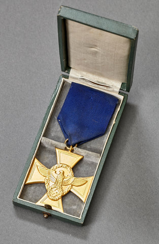 WWII German Police 25 Year Long Service Award