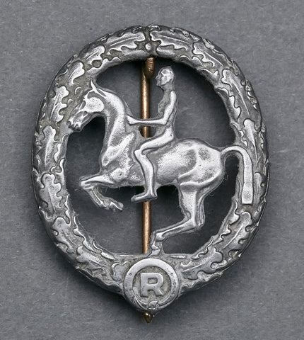 Bronze German Horsemen's Badge