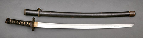 Old Japanese Samurai Sword
