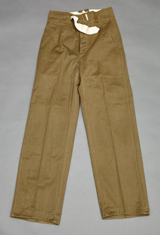 WWII German DAK Tropical Pants