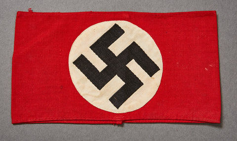 WWII German Cloth Party Armband