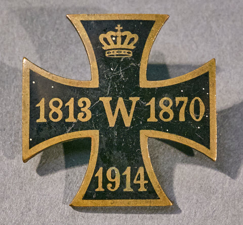 WWI Commemorative Miniature Enamel Iron Cross