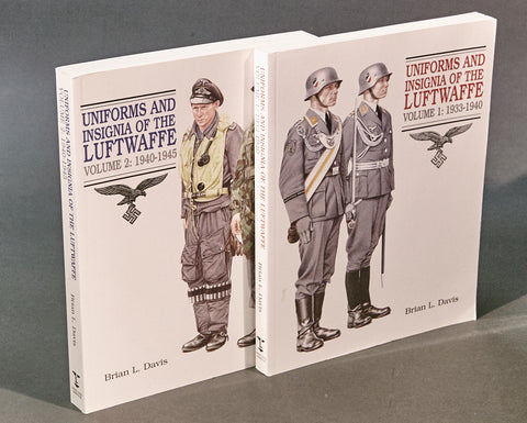 Uniforms and Insignia of the Luftwaffe Vol I & 2
