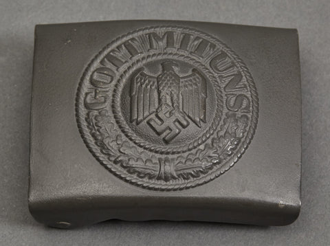 WWII German Kriegsmarine Other Ranks Steel Belt Buckle