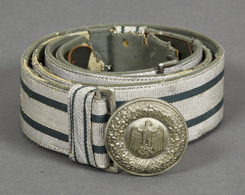 WWII German Army Officer Belt and Buckle