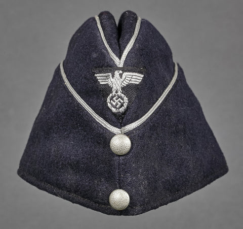 WWII German DAF Officer Overseas Cap