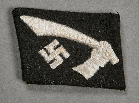"13th Waffen Mountain Division of the SS ""Handschar"" Collar Tab"