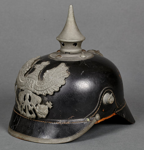 "WWI German ""As Found"" Combat Pickelhaube"