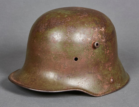 WWI German Model 1916 Camouflage Helmet