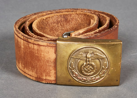 German NAZI WWII SA Belt and Buckle Set