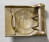 German WWII Army DAK Belt Buckle