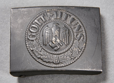 German WWII Navy Combat Belt Buckle