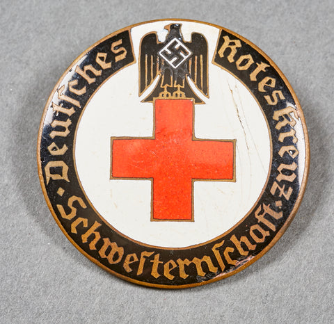 Third Reich Active Membership Brooch for DRK Sister