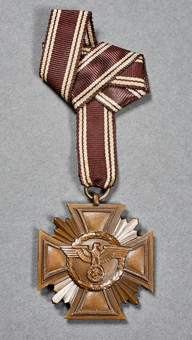 Third Reich NSDAP Faithful Service Decoration, Third Class