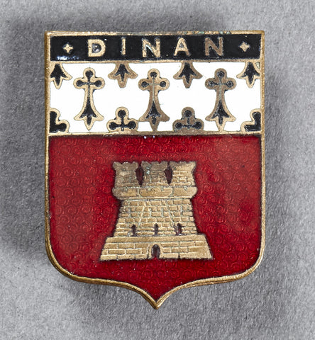 City of Dinan Enamel Pin