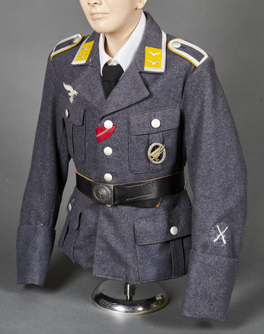 WWII German Luftwaffe Flight/Paratrooper NCO Four Pocket Service Tunic