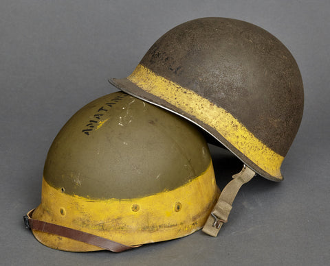 WWII US M-1 Helmet, Named and Researched