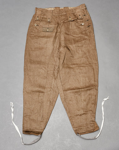 WWII German Model 1943 Type Tropical Trousers for Female Personnel