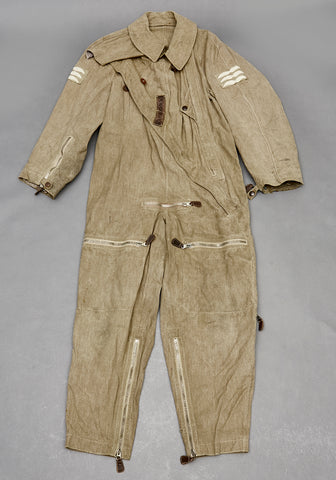 WWII German Luftwaffe Summer Flyers Suit, Named