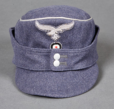 German WWII Luftwaffe Officer's Private Purchase M-43 Cap