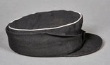 German WWII Waffen-SS Officer's Black Panzer M-43 Cap
