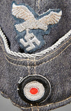 German WWII Luftwaffe Officer's Side Cap