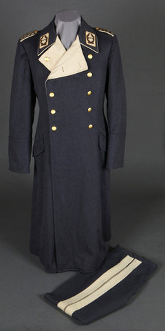 WWII German Luftwaffe General's Overcoat and Trousers