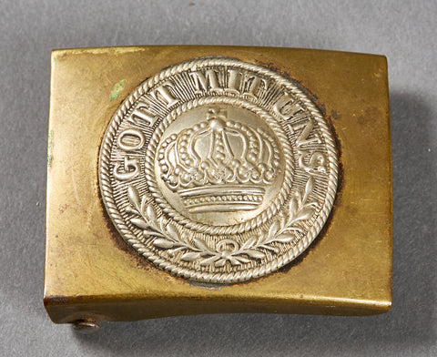 German WWI Army Combat Buckle