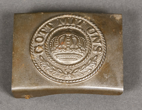 German WWI Army Combat Enlisted Man's Buckle
