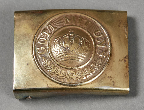 Imperial German WWI Combat Buckle