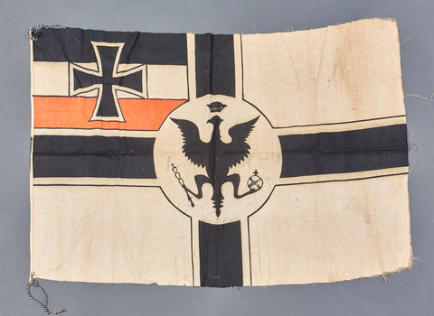 WWI German Variant, Possibly Home Made, Battle Flag