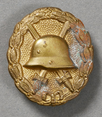 German WWI Gold Wound Badge