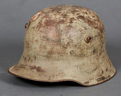 WWI Model 1916 German Camouflage Helmet