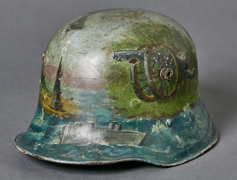 German Model 1916 US Souvenir Art Helmet