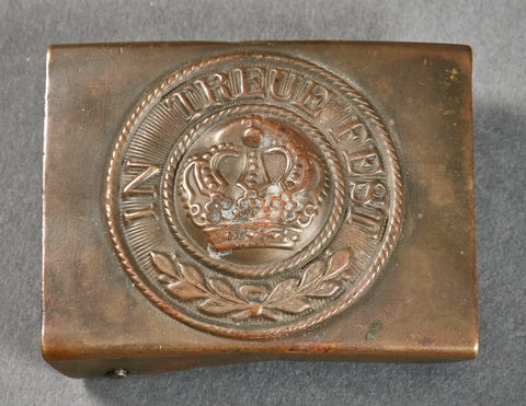 German WWI Imperial Bavarian Enlisted Man's Buckle