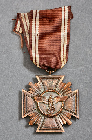 NSDAP Long Service Award, 3rd Class in Bronze