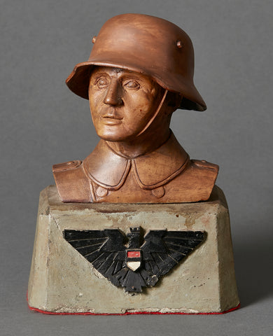German WWI Soldier Bust