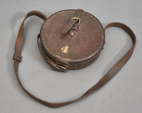 US WWI Leather Carrying Case for A Sighting Device Made by BAT & S. Co.