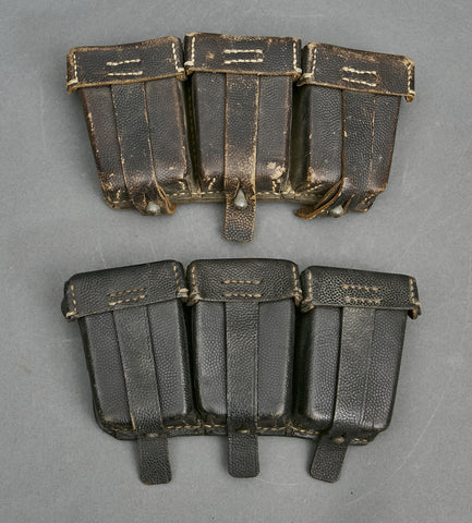 German WWII Set of 98K Ammo Pouches