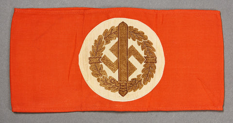German WWII NAZI Armband for SA Sports Badge Recipients