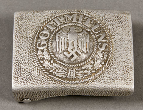 German Army WWII Enlisted Man's Buckle