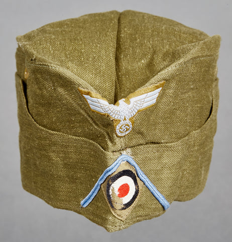 WWII German Army DAK Motorized Transport Other Ranks Side Cap