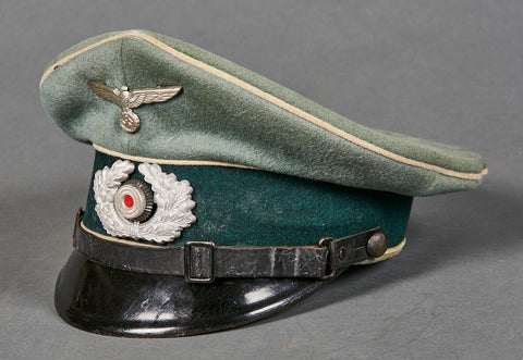 German WWII Army NCO Private Purchase Visor Cap