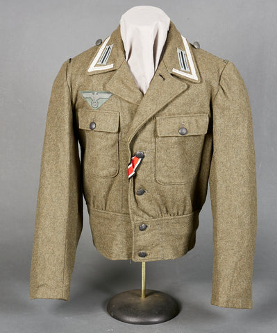 WWII German Army Model 1944 NCO Combat Tunic