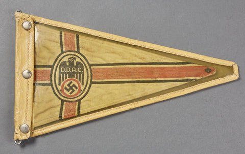 German WWII Automobile Association Car Pennant