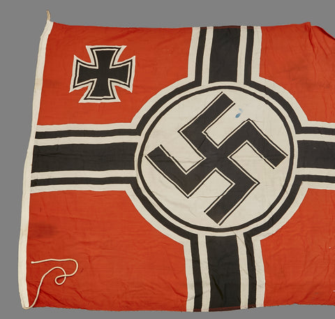 German WWII Navy Proofed Battle Flag