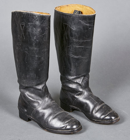 German WWII Combat Boots for NCO
